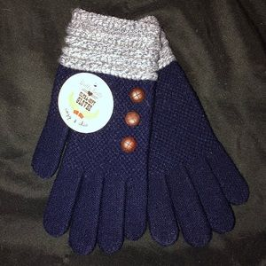 Britt's Knits Two Tone Gloves